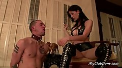 Milf Domina Has Fun With Her Slave