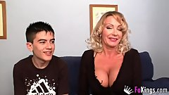 A true milf club_ Bibian's big boobs Vs Jordi's head