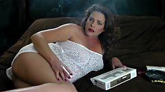MOM FUCKS DAUGHTERS BF - SMOKING - CUMS ON CIGARETTES - LOGAN RIVERS - JOI