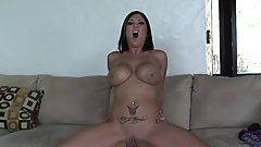 BIG TIT MOMMY GET POUNDED BY MONSTER COCK