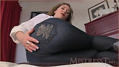 Mistress T in Tight Jeans