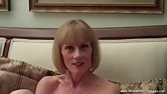 Mommy Works Son's Cock For Cum