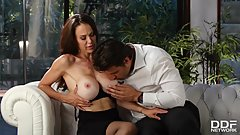 Busty Luxury Milf Mckenzie Lee Fucks the Hired Help