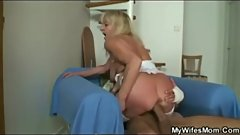 Mywifesmom - my wifes mom comforts me of divorce
