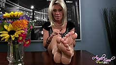 Nikki Ashton beautiful feet