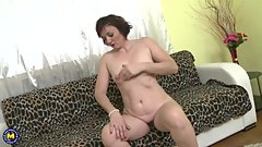 Naughty housewife Jara playing with herself