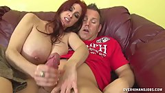 Big Titty Milfs Special Tip For Delivery Guy