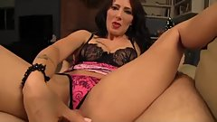 Zoey Holloway - Stepmom handjob POV