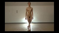 Japanese Nude Ballet Dancer Sweaty