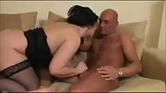 Busty British Milf Seduces Handyman