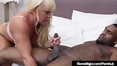 Milf PAWG Alexis Golden Drilled By Big Black Cock Rome Major