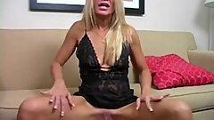 Masturbating With Step Mommy
