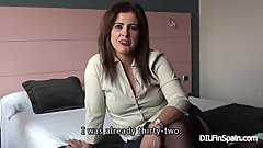 MONTSE SWINGER: Interview before fucking