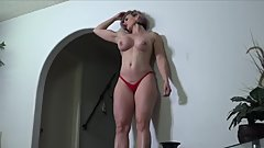 Big Muscle Godess Rapture Flexes
