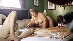 Fat Chrissy getting fucked