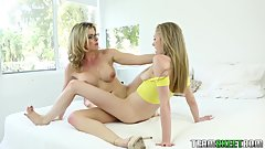 Dyked - Blonde Teen Gets Pussy Licked by Stepmom