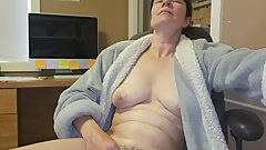 wife having orgasm with vibrator