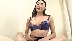 Four Asian Babes Dominate